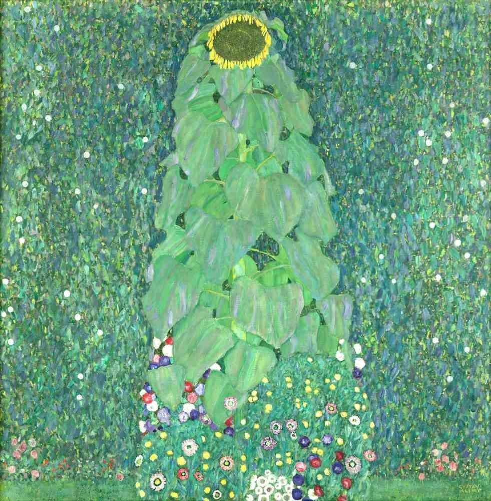 The Sunflower - Klimt