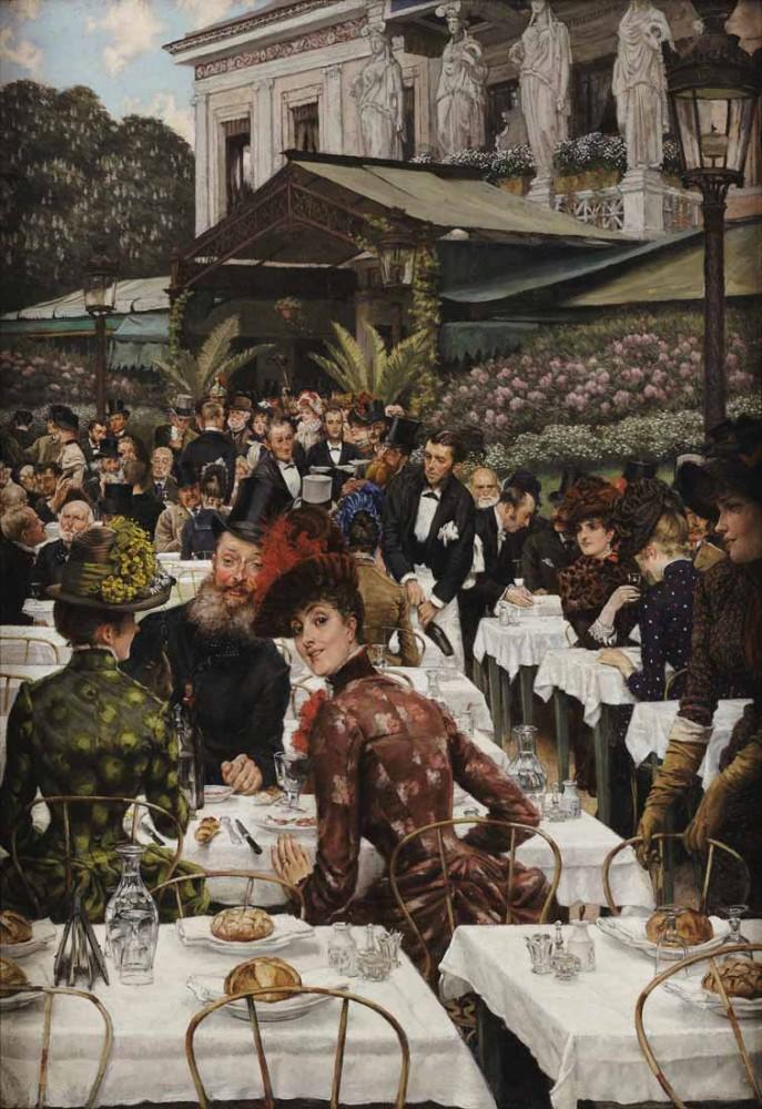 The women of the artist - Tissot