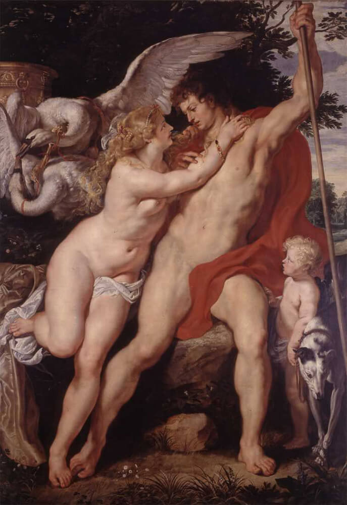 Venus i Adonis 2 - Rubens
