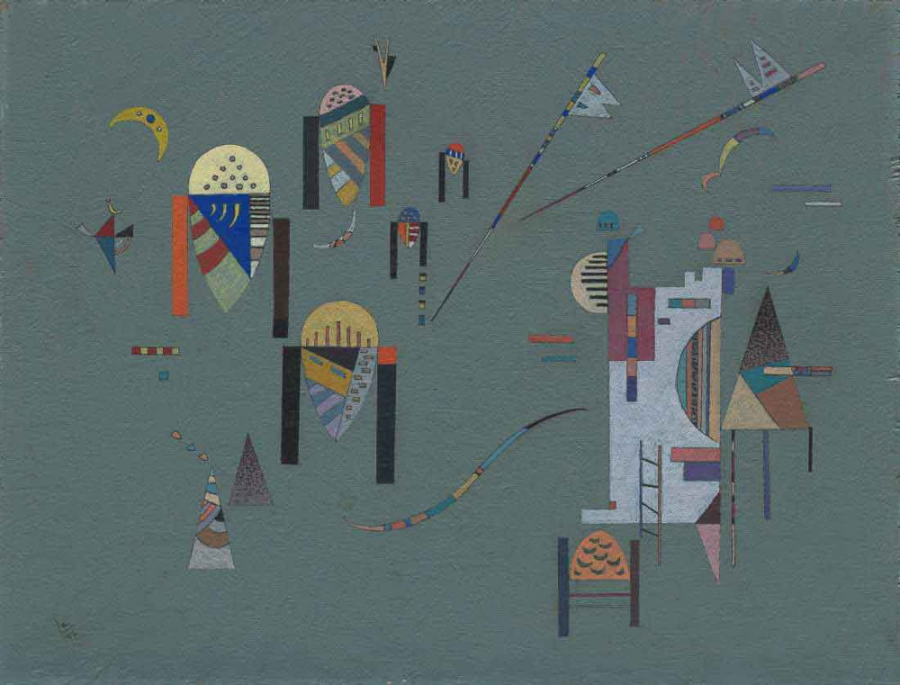 Vertical Accents - Kandinsky
