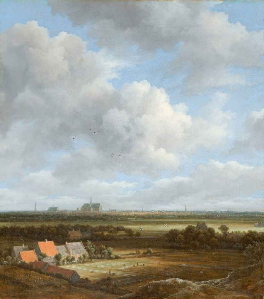 View of Haarlem from the Northwest, with the Bleaching Fields in the F