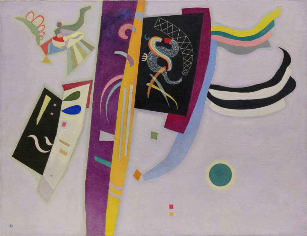 Violet-Orange - Kandinsky