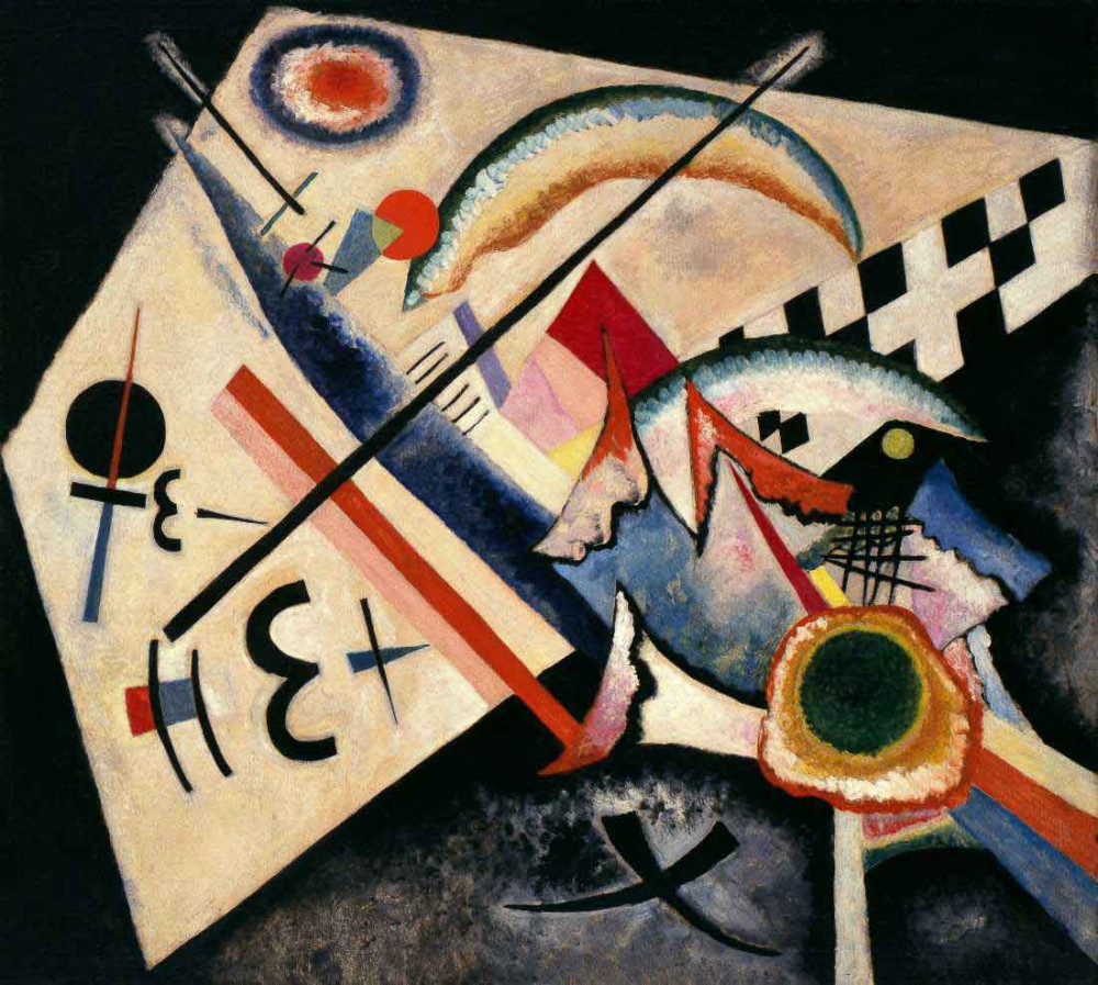 White Cross - Kandinsky