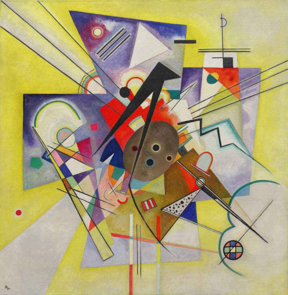 Yellow Accompaniment - Kandinsky