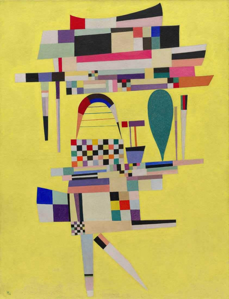 Yellow Painting - Kandinsky