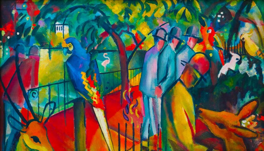 zoological gardens - August Macke